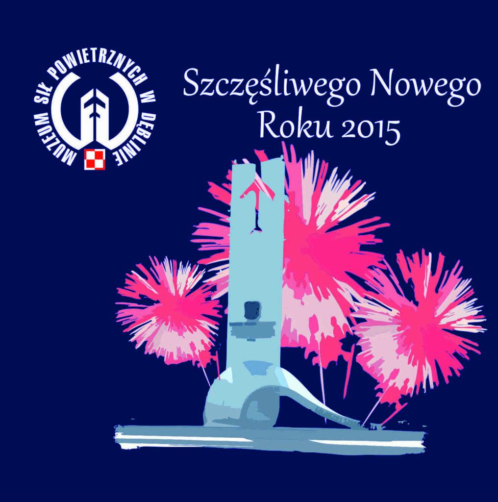 Szczęśliwego Nowego Roku- kartka