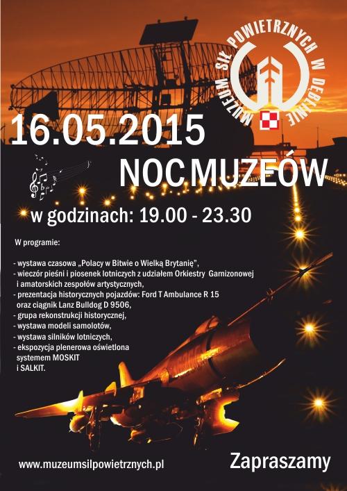Plakat noc muzeów A2