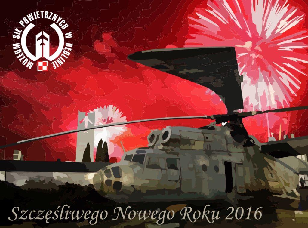Życzenia Szczęśliwego Nowego Roku 2016