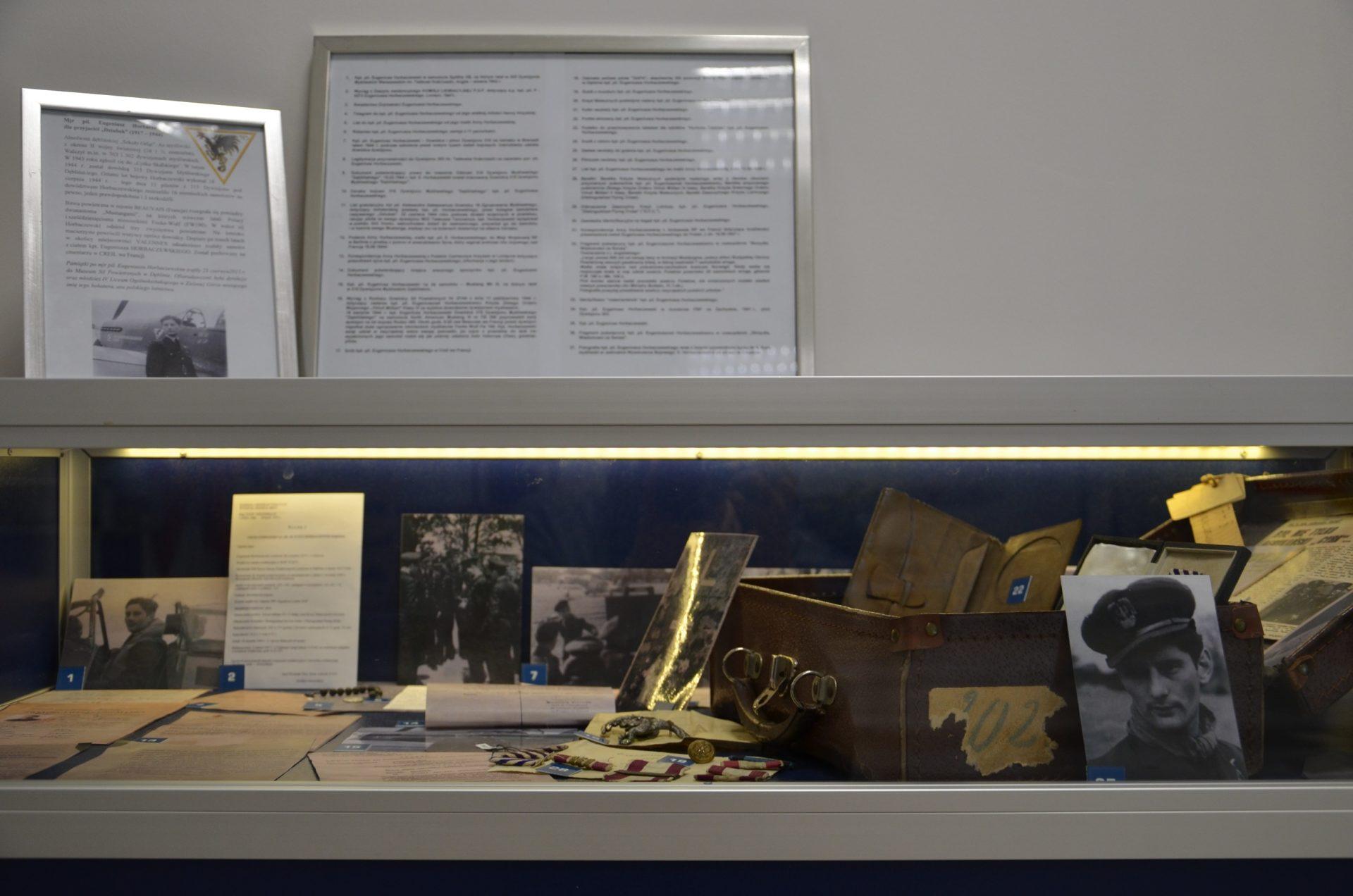 Wystawa poświęcona mjr. pil. Eugeniuszowi Horbaczewskiemu 1