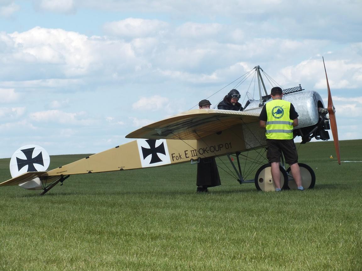 Fokker E III czeskiej grupy Pterodactyl Flight