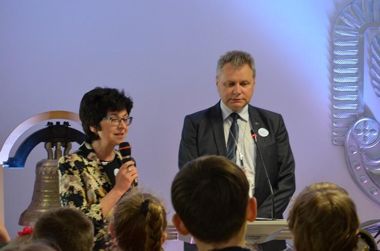Piloci czytają dzieciom Muzeum SIł Powietrznych w Dęblinie - otwarcie