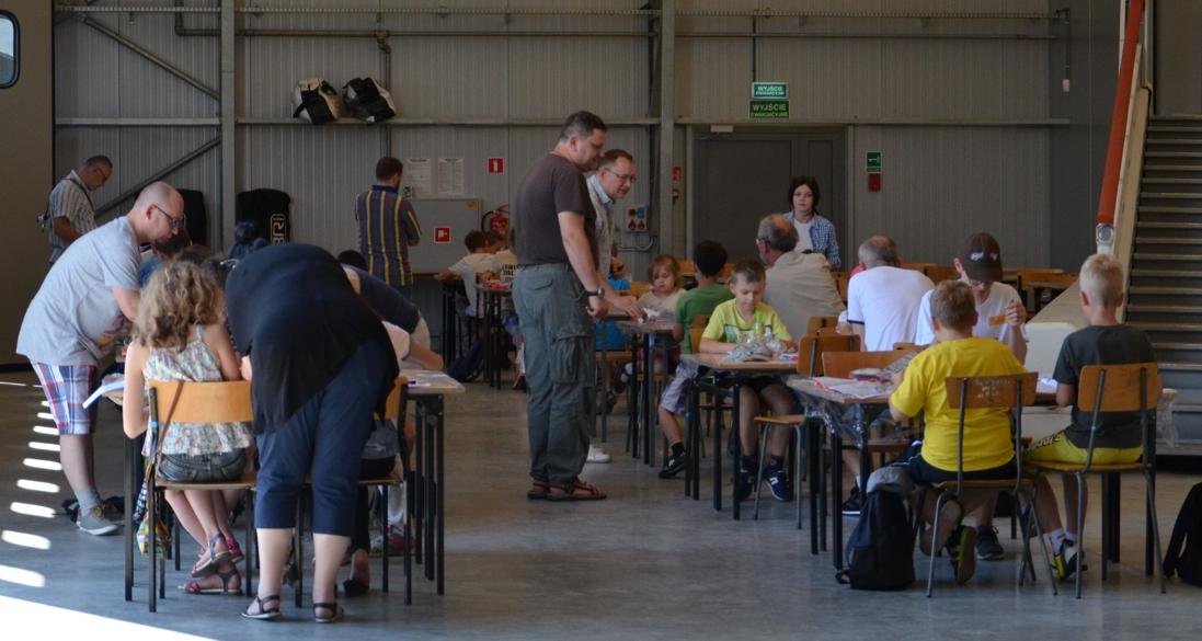 Muzeum Sił Powietrznych w Dęblinie - akademia modelarska (10) 18.06.2016