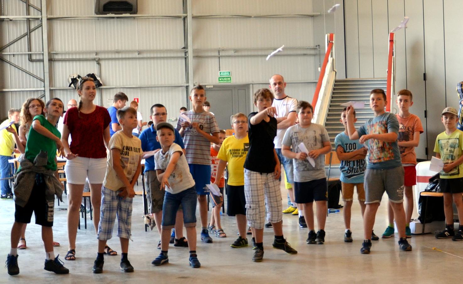 Muzeum Sił Powietrznych w Dęblinie - akademia modelarska (3) 18.06.2016