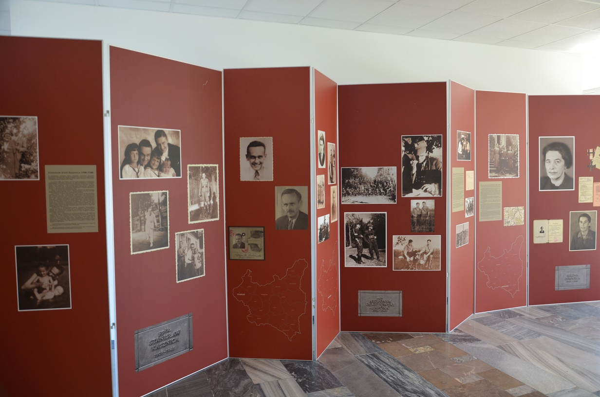 Wystawa IPN Kwatera Ł 3