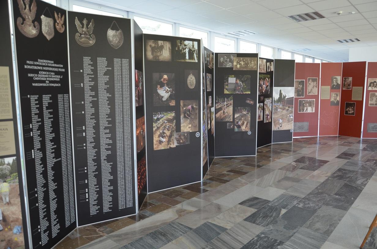 Wystawa IPN Kwatera Ł
