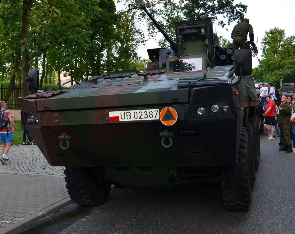 15 Sierpnia Warszawa wystawa sprzętu ciężkiego Wojska Polskiego (2)
