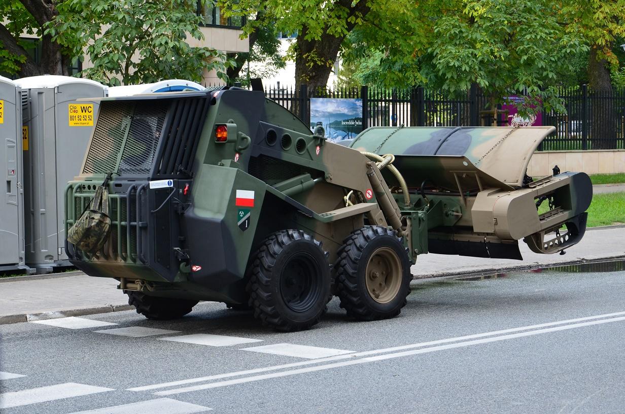 15 Sierpnia Warszawa wystawa sprzętu ciężkiego Wojska Polskiego