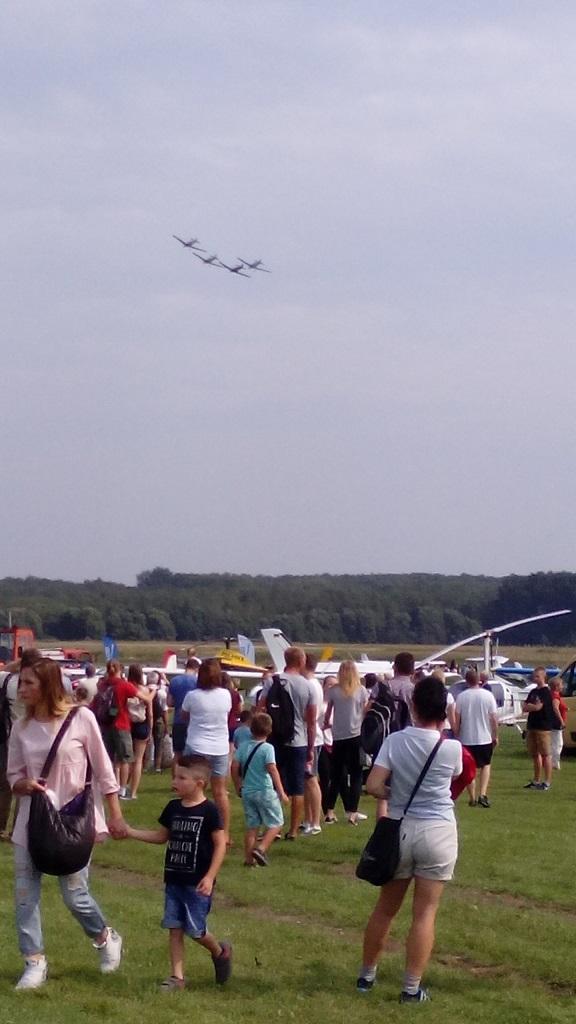 Śląski Air Show Muchowiec 2016 - pokaz samolotów historycznych