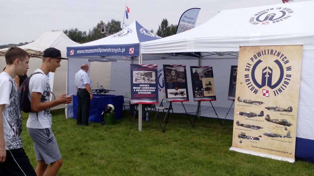 Śląski Air Show Muchowiec 2016 - stoisko Muzeum Sił Powietrznych