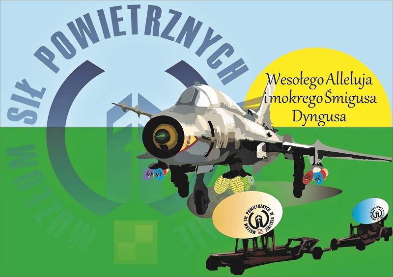 Kartka-Wielkanocna-Muzeum-Sił-Powietrznych-w-Dęblinie-2017