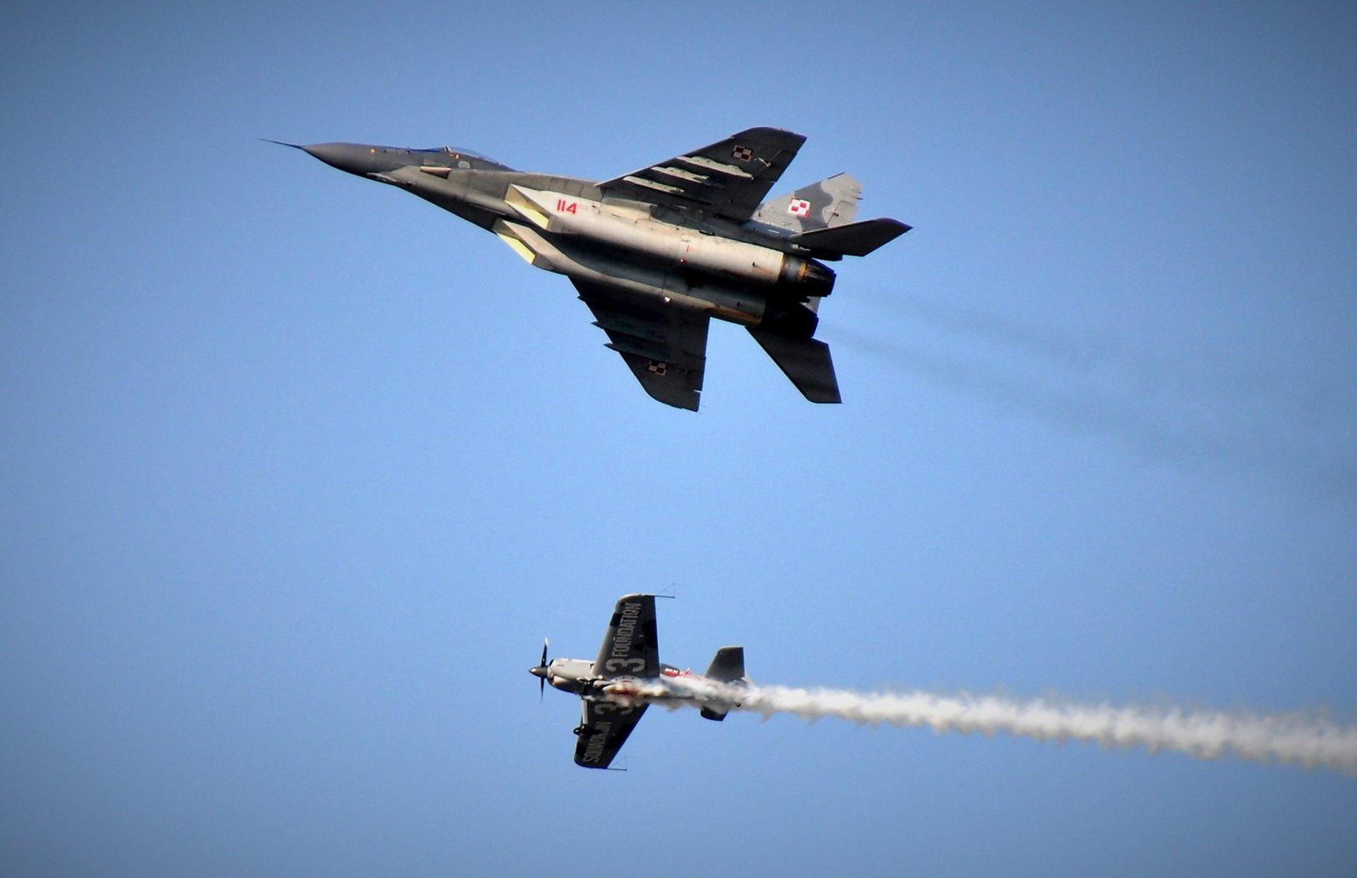 MiG-29 święto Bazy_fot. Jolanta Mokijewska